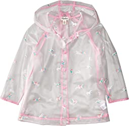 Rainbow Unicorns Clear Swing Raincoat (Toddler/Little Kids/Big Kids)