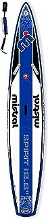 Mistral Spirit Touring de Race 12'6Standup–Tabla de Surf de remo hinchable Incluye supwave. de Coil de Leash, Stand Up Paddle Board ISUP