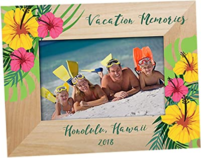 GiftsForYouNow Personalized Family Vacation Frame