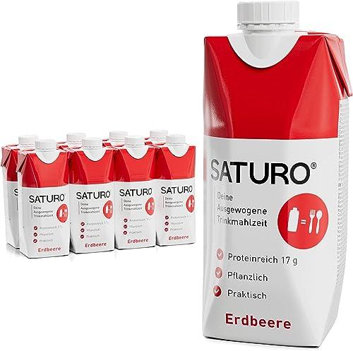 Substitut de Repas Complet Diététique Prêt à Consommer Riche en Protéines, Vitamines et Minéraux – Milk-Shake/Smoothi...