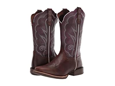 Durango Lady Rebel Pro 12 Ventilated (Oiled Brown/Plum) Women