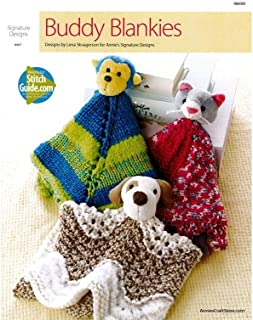 Annies PatternsBk Buddy Blankies Knit Patterns Bk