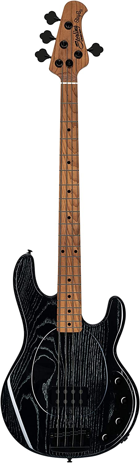 Sterling 国産品 by Music Man 4 String マーケット Right Bass Black RAY34A Guitar