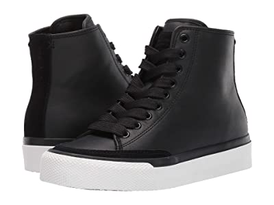 rag & bone RB High Top Sneaker (Black) Women