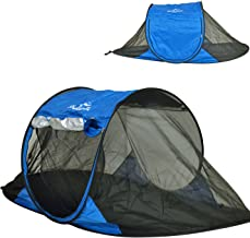 Shadezilla Free-Standing Instant Pop-Up Mosquito/Bug Tent with UPF 100+ Removable Ceiling for 1 to 2 Person