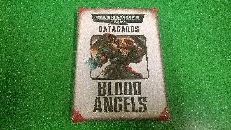 Warhammer 40,000 Datacards  Blood Angels (2014)