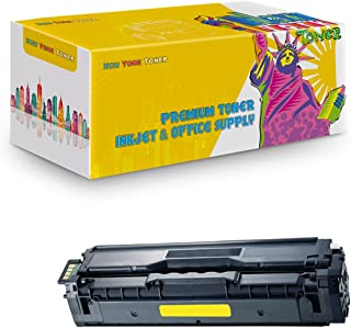 New York TonerTM New Compatible 1 Pack Samsung CLT-Y504S High Yield Toner for Samsung - CLP-415NW | CLX-4195FW | CLP 470 | 475 . -- Yellow