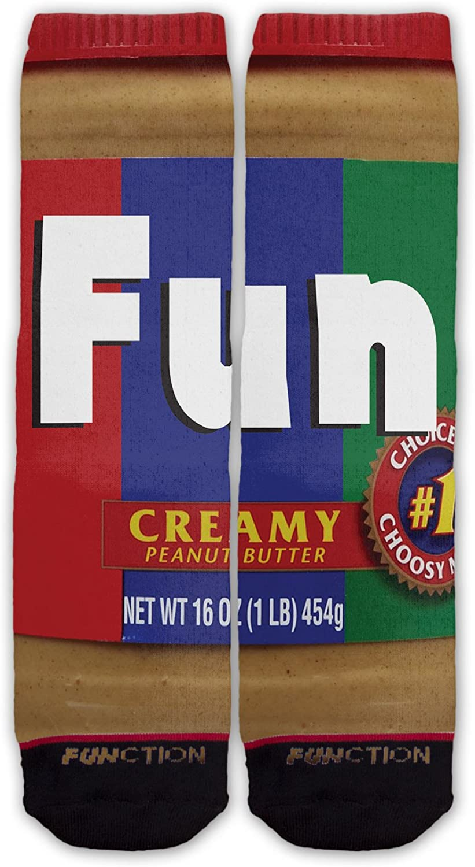 Function - Peanut Butter Fashion Socks