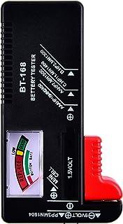 Battery Tester - Universal Battery Checker BT-168, Digital Household Battery Tester for AAAA AAA AA C D 9V 1.5V Button Cel...