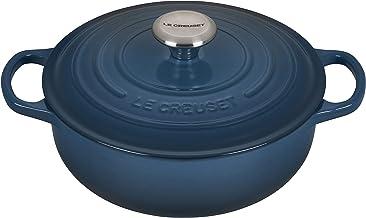 Le Creuset Enameled Cast Iron Signature Sauteuse Oven, 3.5 qt, Deep Teal