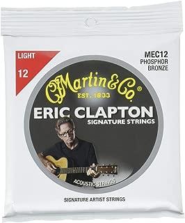 Martin MEC12 Clapton's Choice Phosphor Bronze Acoustic Guitar Strings, Light
