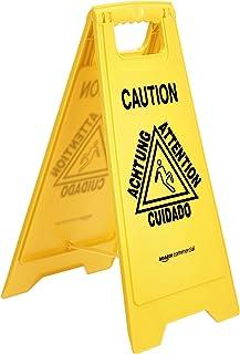 AmazonCommercial - Señal de suelo mojado, paquete de 3 unidades