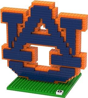 FOCO NCAA Auburn Tigers 3D Brxlz Team Logo Building Blocks Set3D Brxlz Team Logo Building Blocks Set, Team Color, One Size