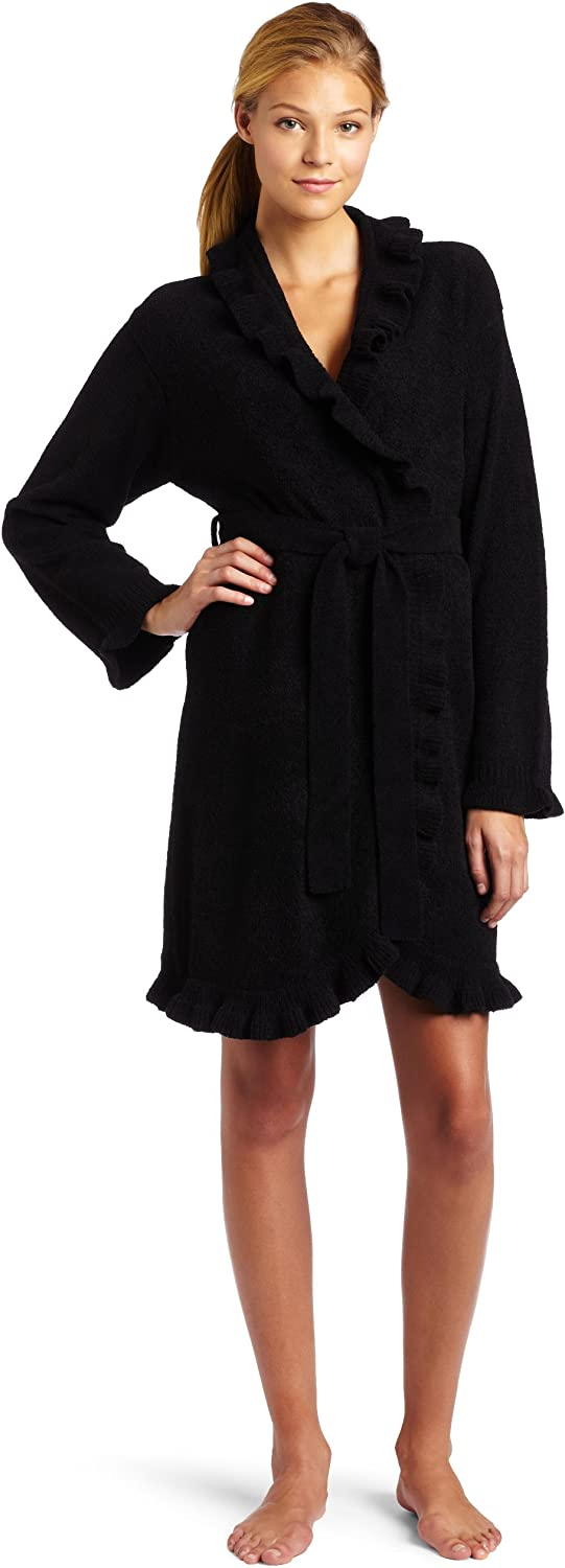 Casual Moments Women's 36 Inch Wrap with Ruffle Trim