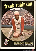 1959 Topps # 435 Frank Robinson Cincinnati Reds (Baseball Card) Dean's Cards 3 - VG Reds