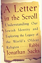 A Letter in the Scroll: Understanding Our Jewish Identity and Exploring the Legacy of the World's Oldest Religion Kindle Edition