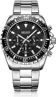 Megir Casual Watch For Men Analog Stainless Steel - 2064-1