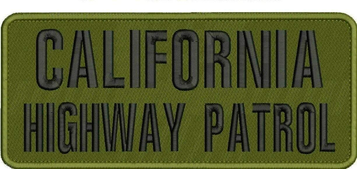 Embroidered Patch - Patches Sacramento Mall unisex for Women Man California P Highway