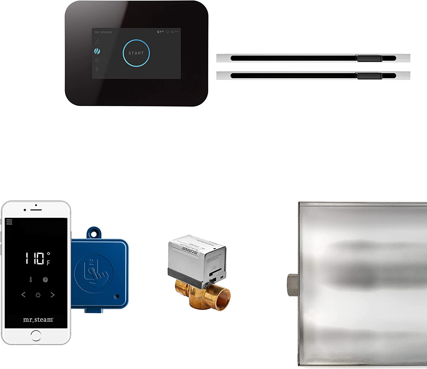 MrSteam iButler Max Package Over item handling Surprise price 3 Control Screen Touch black