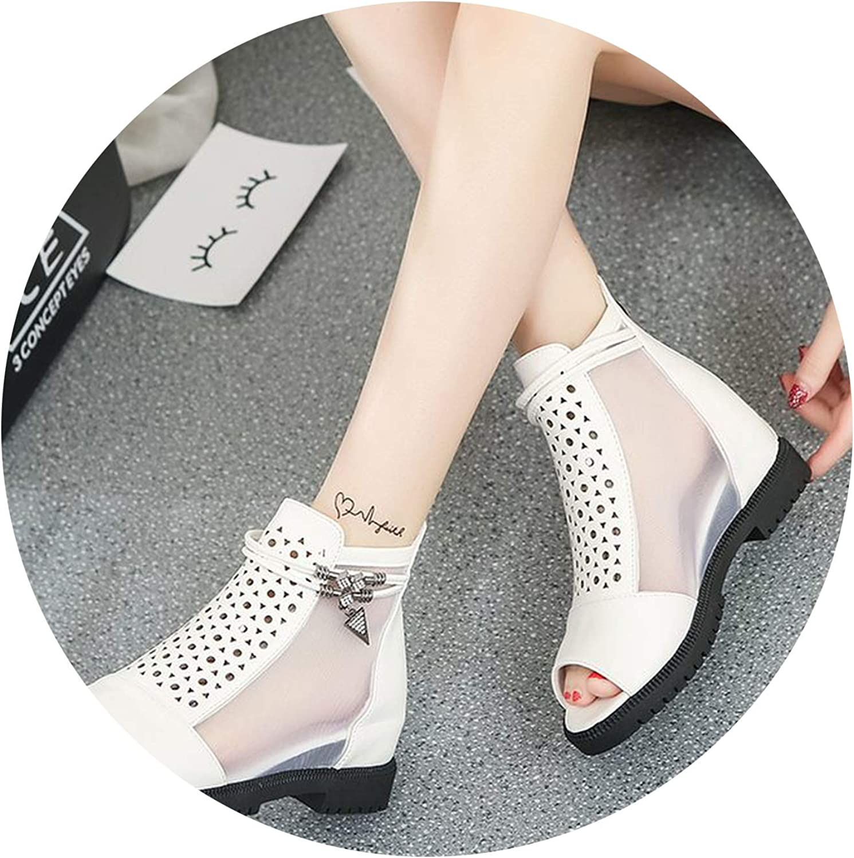 Summer Women Wedges Sandals Gladiator Sandal Open Toe Casual Sandalias Fashion Female Footwear
