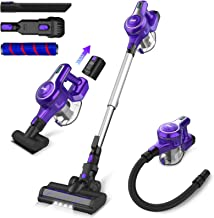 Cordless Vacuum Cleaner, 23Kpa 250W Brushless Motor Stick Vacume, Up to 45 Mins Max Runtime 2500mAh Rechargeable Battery, ...