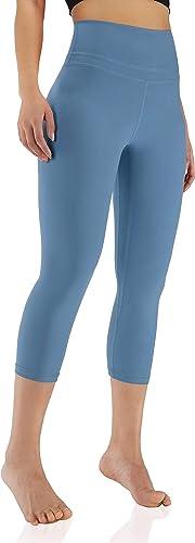 "ODODOS Women's 7/8 Yoga Leggings, High Waisted Workout Leggings 25"" Inseam"