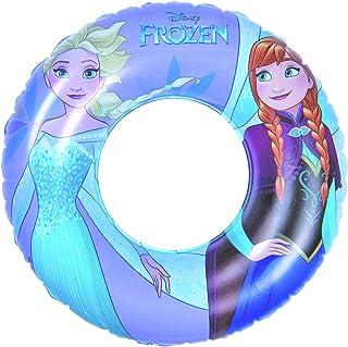 Disney- Anillo de natación Inflable, Color Morado, Azul. (Frozen Inflatable Swim Ring)