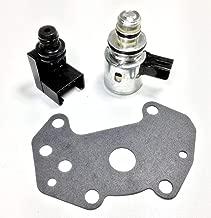 CZHAN A500 A518 46RE 47RE 46RH Governor Pressure Sensor Transducer & Solenoid Kit Compatible With 00 01 02 03 04 Jeep Grand Cherokee/00 01 02 03 Dodge Dakota Dodge Durango/Dodge Ram 1500,2500,3500