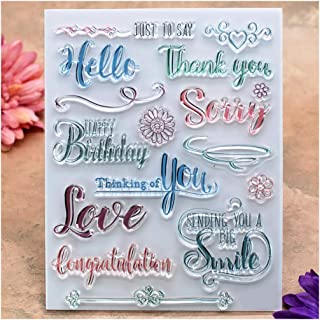 Best thank you stamps for card making Reviews