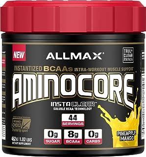 ALLMAX Nutrition, AminoCore BCAA Pineapple Mango 462g