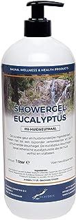 Showergel Eucalyptus 1 Liter - met gratis pomp