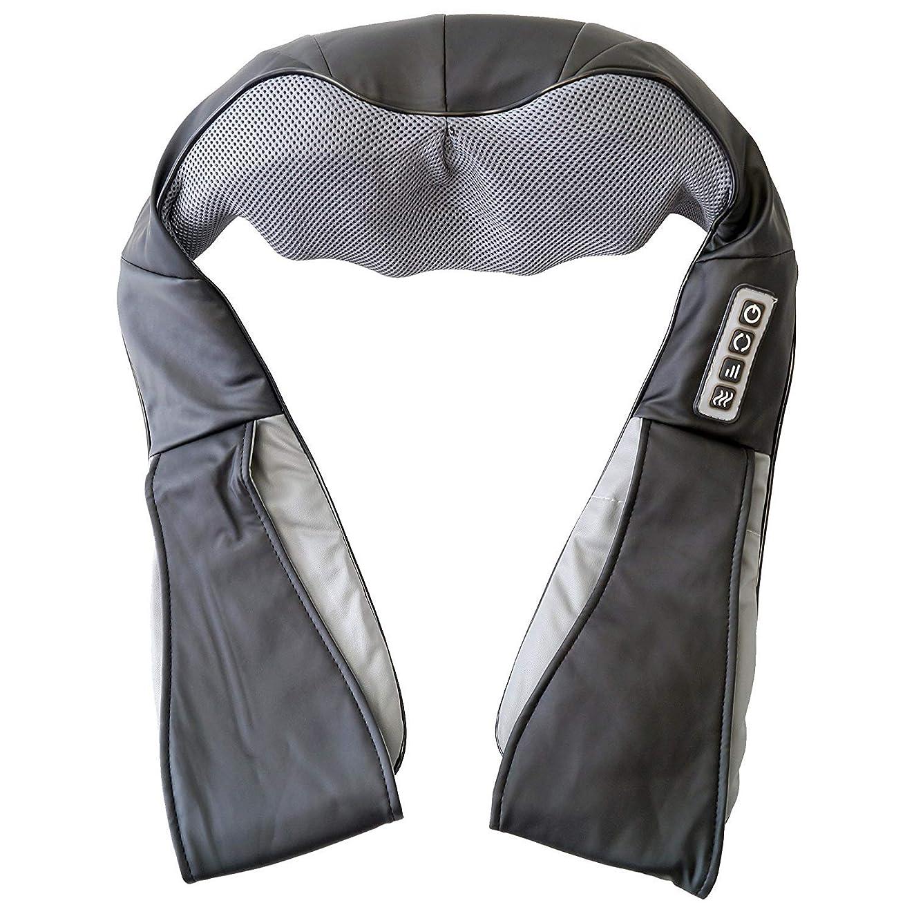 航空会社冬寝てるGWM 充電式バッテリーベルトマッサージャーコードレス混成指圧赤外線ヒートセラピー(頚部肩用)アームハムストリングアンクルバック関節痛緩和