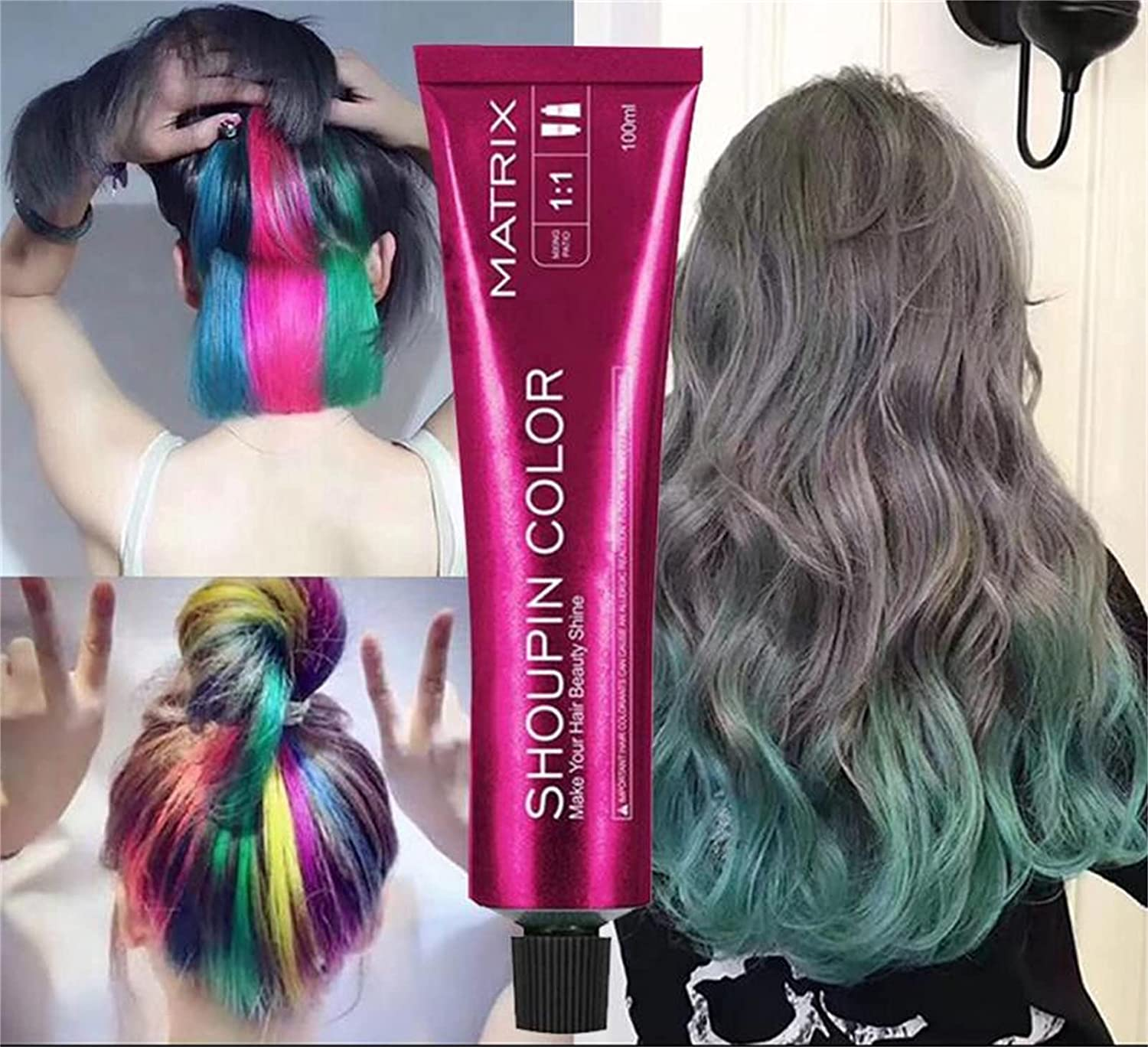 Brielle Coloring Shampoo Glam Mermaid Up Hair Cheap mail order specialty store Dedication