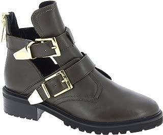 Steve Madden Luxury Fashion Womens 5035BLACK Beige Ankle Boots | Season Outlet