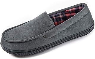 RockDove Men's Alexander Flannel Lined Loafer