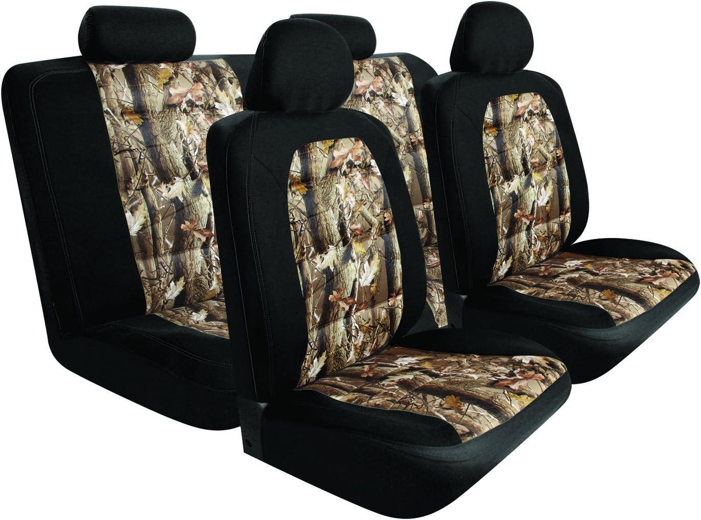 Pilot Automotive Nashville-Davidson Mall SC-5025E Black 10-Piece Mesh Camo Cover Popular products Seat