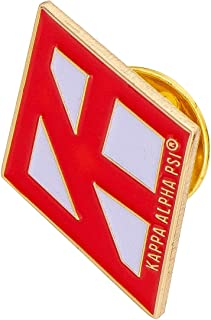 Desert Cactus Kappa Alpha Psi Fraternity Diamond w/Group Name On It Lapel Pin Enamel Greek Formal Wear Blazer Jacket Nupe (Diamond Pin - Group Name On It)