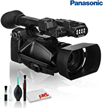 Panasonic AG-AC30 Full HD Camcorder with Touch Panel LCD Viewscreen and Built-in LED Light - Premium Kit