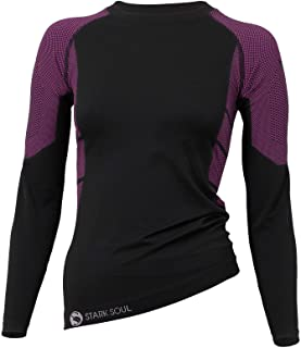 Stark Soul Women's Functional Thermal Underwear Breathable Active Base Layer Long Sleeve Shirt or Long Johns