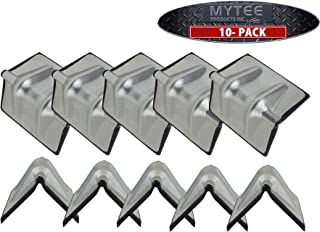 Steel Corner Protector with Rubber Chain Cargo Flatbed (10 - Pack)