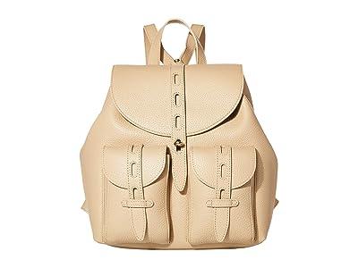 Furla Net Small Backpack (Sand) Backpack Bags
