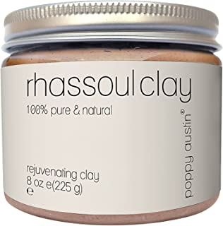 Rhassoul Clay Hair & Face Cleanser - Vegan Certified, Cruelty-Free, Organic & Eco Friendly Ghassoul Powder - All Natural F...