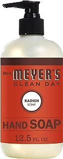 Mrs. Meyer's Clean Day Liquid Hand Soap,12.5 ounce bottle (Radish, PACK - 1)