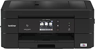 Brother Wireless All-In-One Inkjet Printer, MFC-J895DW, Multi-Function Color Printer, Duplex Printing, NFC One Touch to Connect Mobile Printing, Amazon Dash Replenishment Enabled