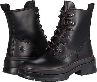 Timberland Women's Malynn EK+ Waterproof Lace-up Fashion Boot, Jet Black, 9 Medium
