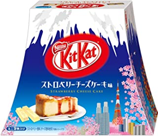 Japanese Kit Kat Strawberry Cheeze Cake Box 4.2oz (9 Mini Bar)