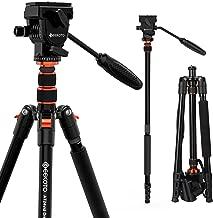 GEEKOTO 77 Inches Video Camera Tripod, Aluminum Tripod...