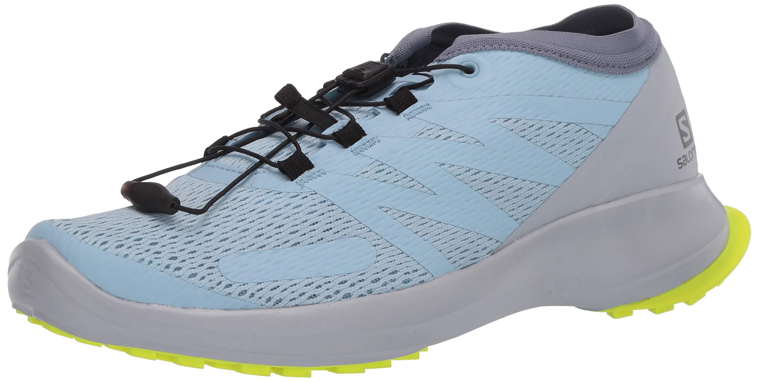 Salomon Damen Shoes Sense Flow Laufschuhe, Weiß (Angel Falls/Pearl Blue/Safety