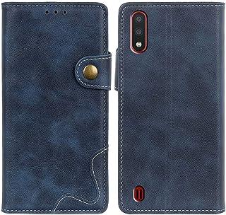 MOONCASE Case for Galaxy M01, Premium PU Leather Cover Wallet Pouch Flip Case Card Slots Magnetic Closure Mobile Phone Pro...