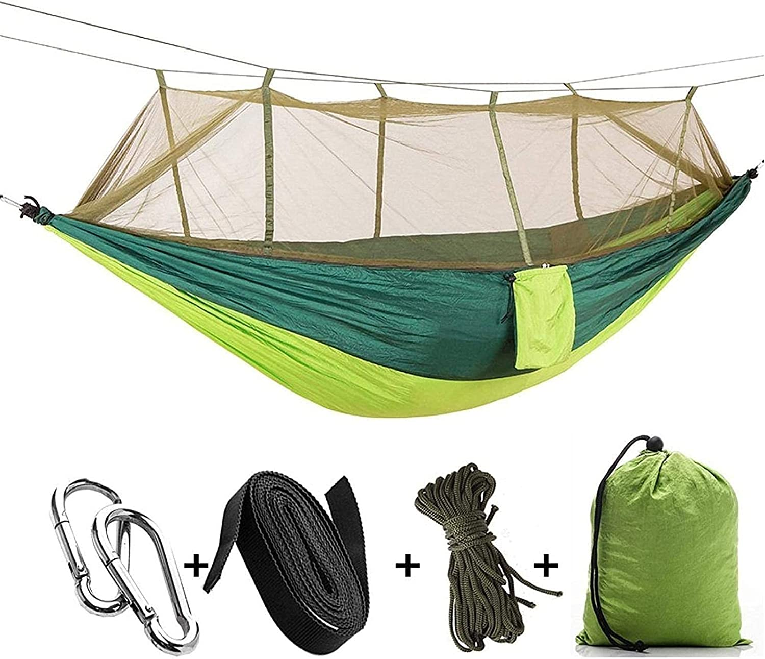 Portable Lightweight Hammock Outlet SALE Outdoor Mosquito Max 87% OFF Nets Camping Hammo